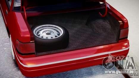 Mercury Tracer 1993 v1.0 pour GTA 4 Vue arrière