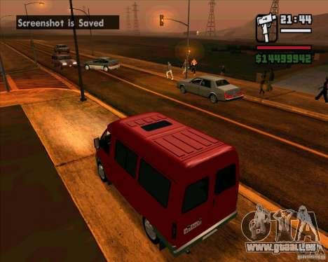 GAZ 22171 Sable für GTA San Andreas rechten Ansicht