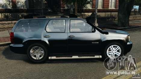 Chevrolet Tahoe LCPD SWAT pour GTA 4 est une gauche