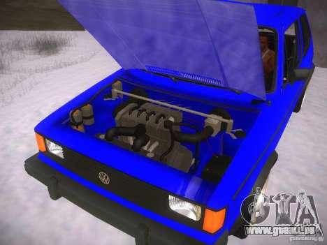 Volkswagen Rabbit GTI für GTA San Andreas rechten Ansicht