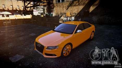 Audi S4 2010 für GTA 4 Rückansicht