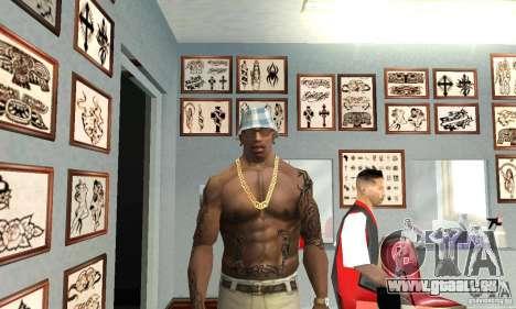 50cent_tatu für GTA San Andreas zweiten Screenshot