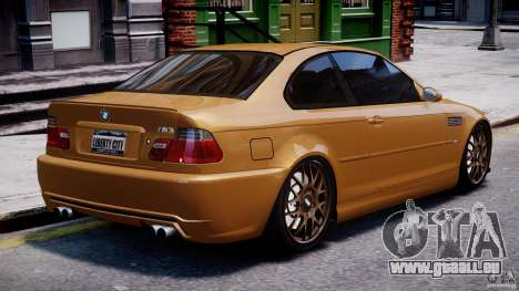 BMW M3 E46 Tuning 2001 v2.0 für GTA 4 obere Ansicht