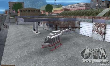 Essence capteur unique pour GTA San Andreas troisième écran