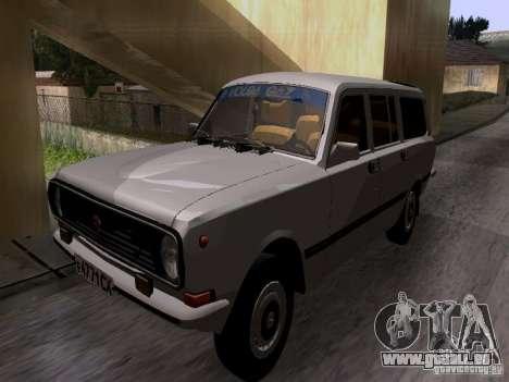 GAZ 24-12 SL Volga pour GTA San Andreas sur la vue arrière gauche