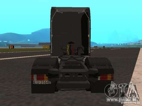 Mercedes-Benz Actros MP3 für GTA San Andreas Rückansicht