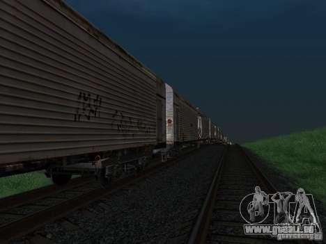 Refrežiratornyj wagon Dessau n7 pour GTA San Andreas vue de droite