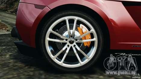 Lamborghini Gallardo LP570-4 Spyder Performante für GTA 4 obere Ansicht