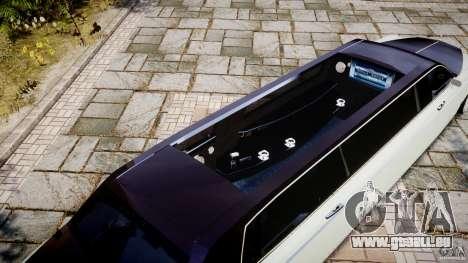 Rolls Royce Phantom Sapphire Limousine Disco pour GTA 4 Salon