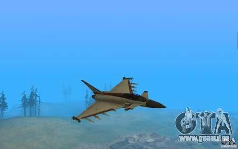 EF-2000 Typhoon V1.3 pour GTA San Andreas