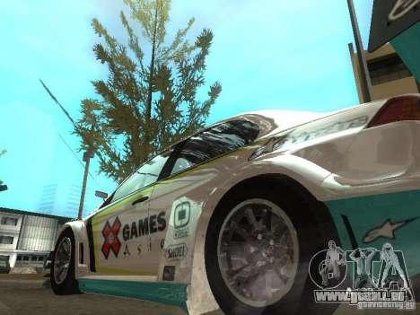 Mitsubishi Lancer Evo X Trailblazer Dirt2 für GTA San Andreas zurück linke Ansicht