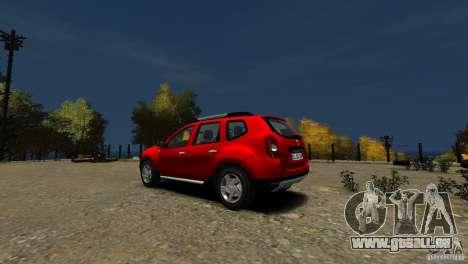 Dacia Duster SUV 4x4 2010 für GTA 4 hinten links Ansicht