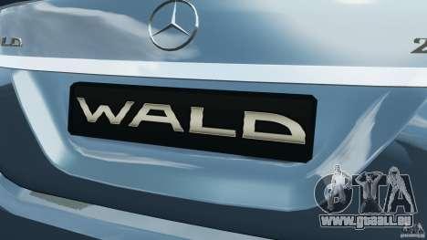 Mercedes-Benz S W221 Wald Black Bison Edition pour GTA 4 roues