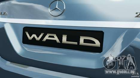 Mercedes-Benz S W221 Wald Black Bison Edition für GTA 4 Räder