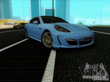 Gemballa Mistrale 2010 V1.0 für GTA San Andreas rechten Ansicht