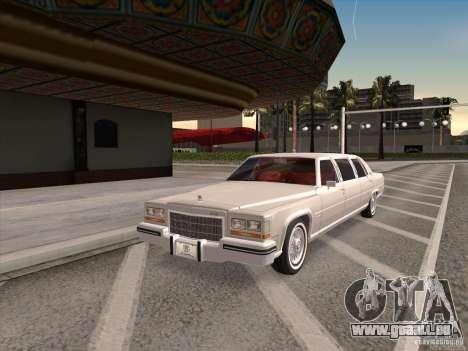 Cadillac Fleetwood Limousine 1985 für GTA San Andreas
