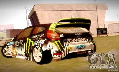 Ford Fiesta Gymkhana 4 pour GTA San Andreas moteur