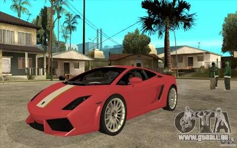 Lamborghini Gallardo LP550 Valentino Balboni pour GTA San Andreas