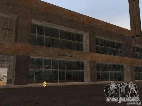 IMW Old Zastava Car Showroom pour GTA San Andreas deuxième écran