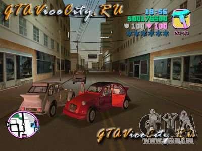 Citroen 2CV spoiler pour GTA Vice City