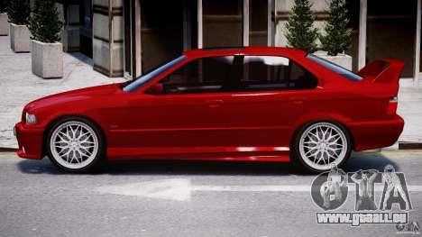 BMW 318i Light Tuning v1.1 für GTA 4 hinten links Ansicht
