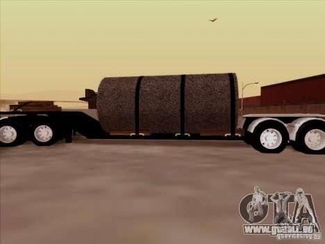 Remorque, Peterbilt 378 Custom pour GTA San Andreas laissé vue