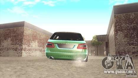 Mercedes-Benz E-Class Estate S212 für GTA San Andreas Rückansicht