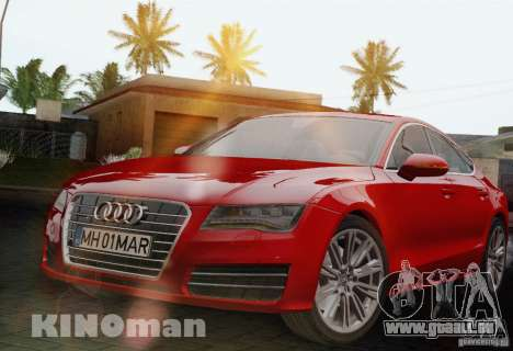 Audi A7 Sportback 2010 für GTA San Andreas