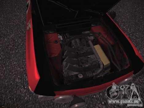 Lancia Fulvia Rally für GTA San Andreas Innenansicht