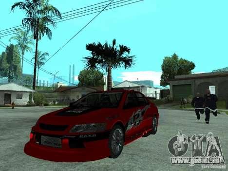 Mitsubishi Lancer Evo IX MR Edition pour GTA San Andreas