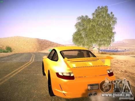 Porsche 911 für GTA San Andreas Innenansicht