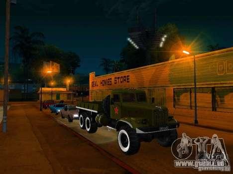 Camion KrAZ Parade pour GTA San Andreas vue de droite