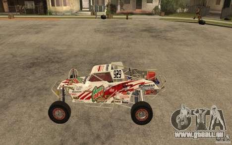 CORR Super Buggy 1 (Schwalbe) pour GTA San Andreas laissé vue