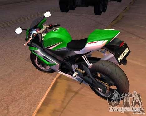 Suzuki 1000 Police für GTA San Andreas rechten Ansicht
