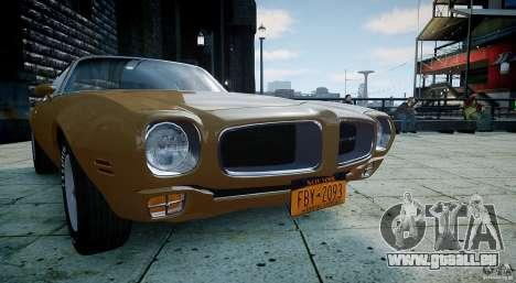 Pontiac Firebird 1970 pour GTA 4