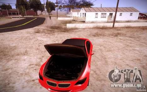 BMW M6 für GTA San Andreas Seitenansicht