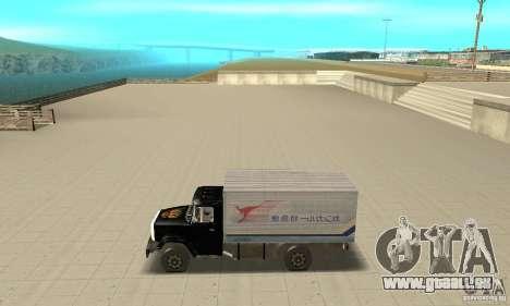 ZIL 433112 avec tuning pour GTA San Andreas laissé vue