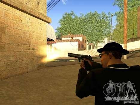 Desert Eagle MW3 pour GTA San Andreas huitième écran