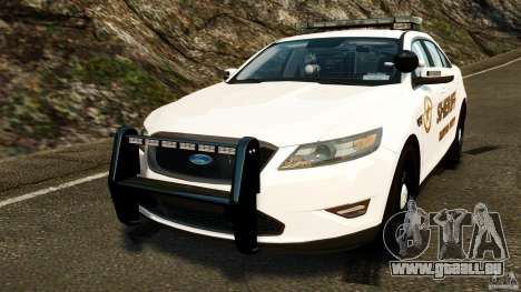 Ford Taurus 2010 CCSO Police [ELS] pour GTA 4