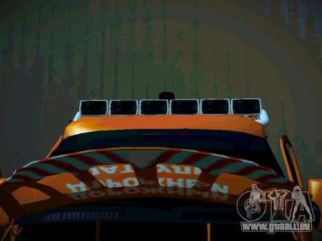 Gazelle 2705 Business für GTA San Andreas Innenansicht
