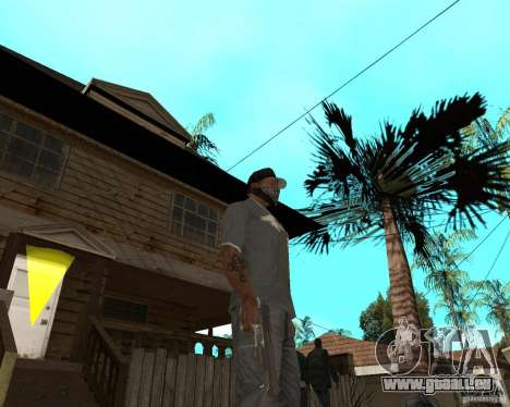 Desert Eagle von CoD: MW2 für GTA San Andreas dritten Screenshot