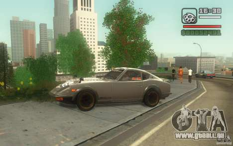 Datsun 240ZG pour GTA San Andreas laissé vue