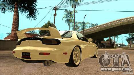Mazda RX7 FD3S Type-R Bathurst pour GTA San Andreas vue de droite