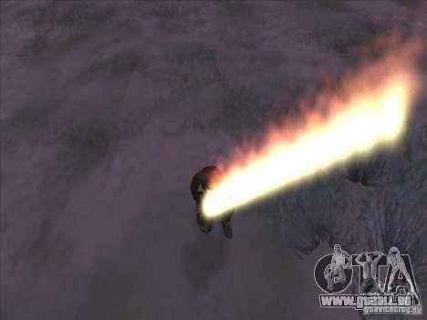Épée de feu pour c Jay pour GTA San Andreas troisième écran