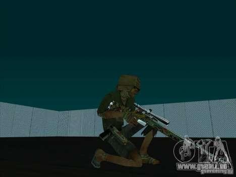 New Weapons Pack pour GTA San Andreas quatrième écran