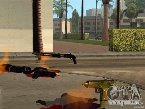 Inländischen Waffen-Version 1.5 für GTA San Andreas elften Screenshot