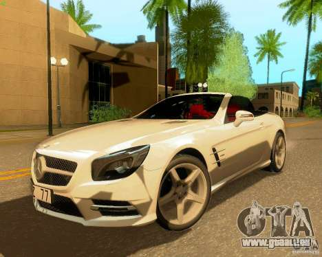 Mercedes-Benz SL350 2013 pour GTA San Andreas