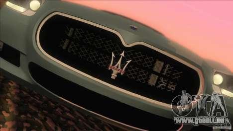 Maserati Quattroporte Sport GT V1.0 pour GTA San Andreas vue de droite