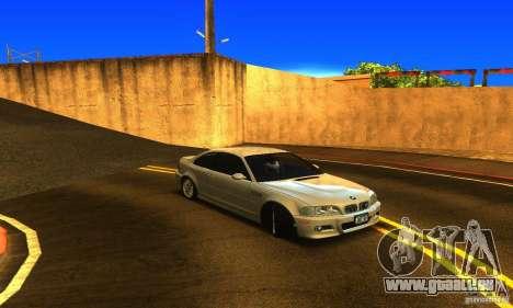 BMW M3 Tuneable pour GTA San Andreas vue de droite