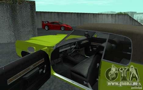 Chevrolet Impala 1971 pour GTA San Andreas laissé vue